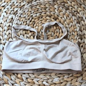 barely there nude bralette NWOT xs